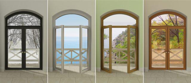 Porte finestre … mille soluzioni che cambiano prospettiva
